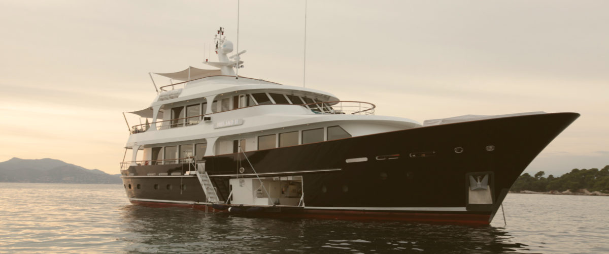 Heliad II by Lynx Yachts with naval architecture by Diana Yacht Design