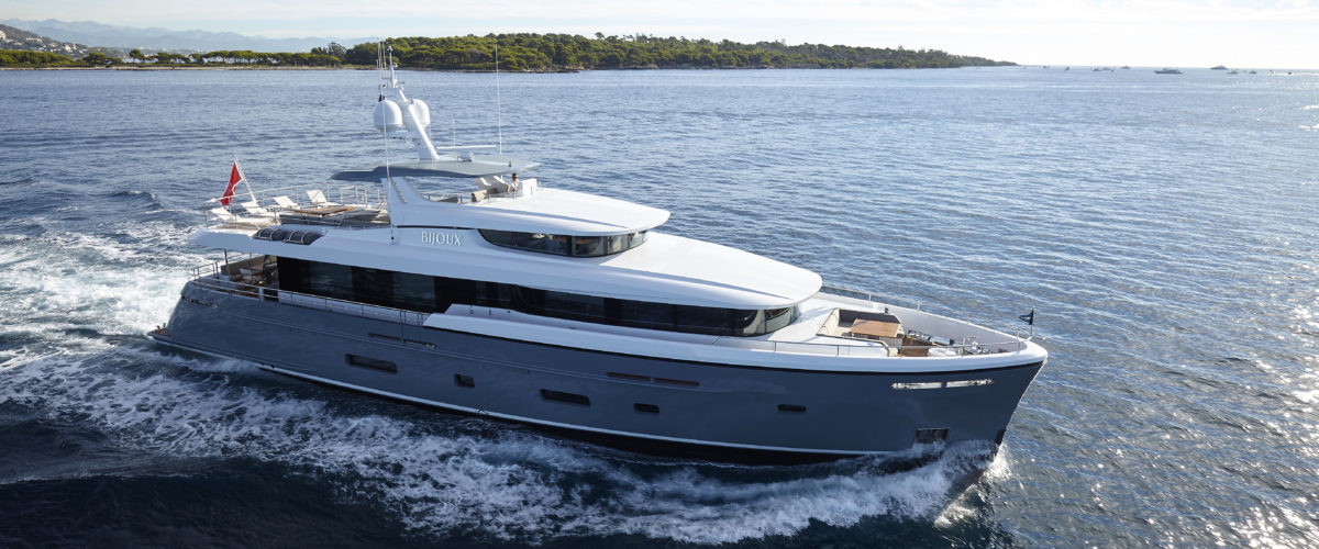 Bijoux II by Moonen Yachts with naval architecture by Diana Yacht Design