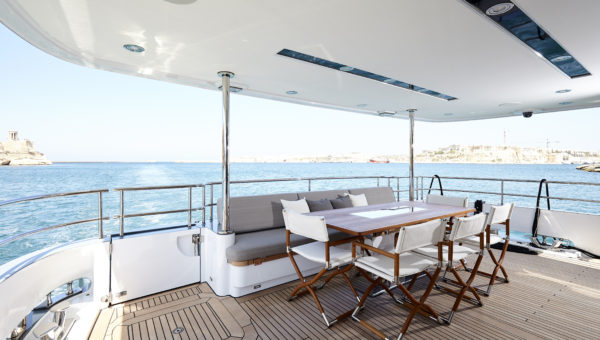 Bijoux by Moonen Yachts with naval architecture by Diana Yacht Design