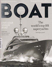 Boat International Magazine Januari 2015 issue