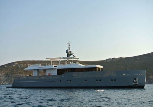 Only Now by Tansu Yachts with naval architecture by Diana Yacht Design