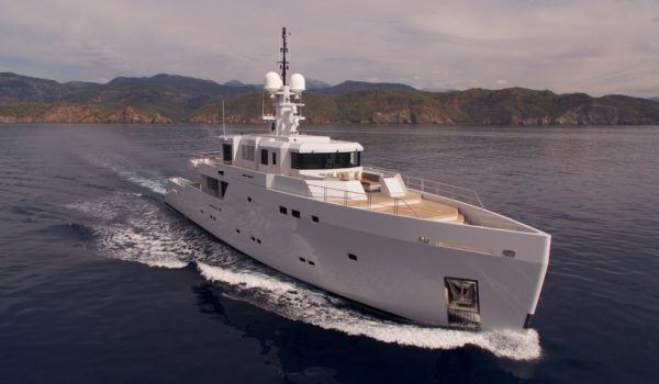 Highlight by Tansu Yachts with naval architecture by Diana Yacht Design