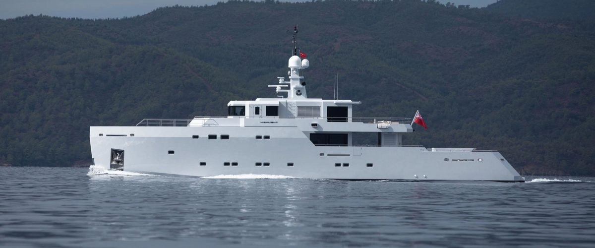 Superyacht Highlight with naval architecture by Diana Yacht Design