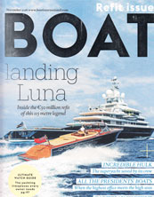 Boat International november 2016 - explorer yacht Legend