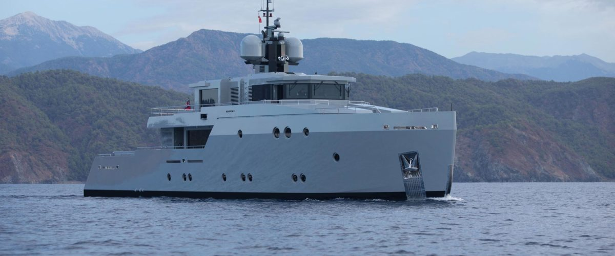 Esosh by Tansu Yachts with naval architecture by Diana Yacht Design