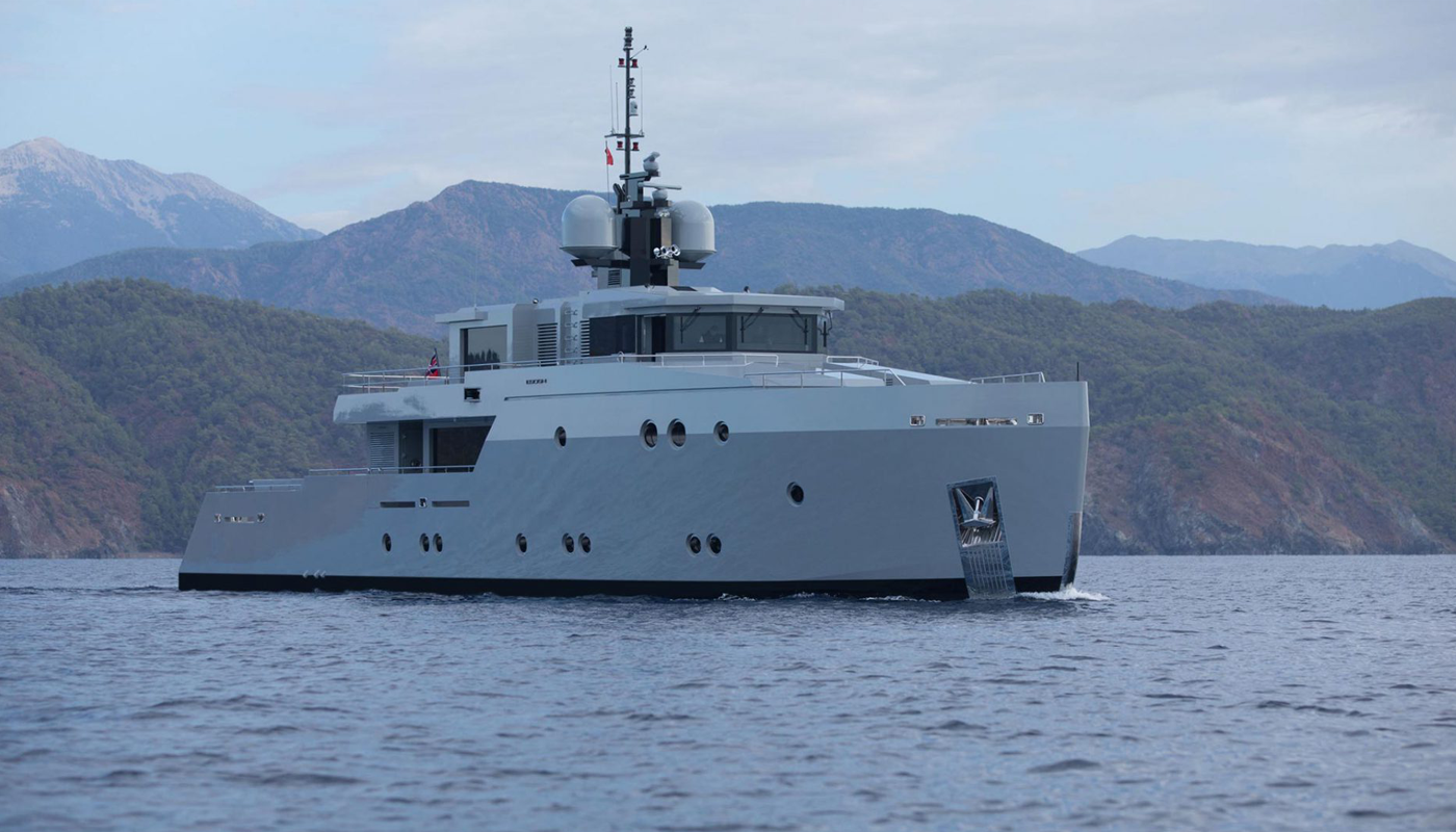 Superyacht Esosh by Tansu Yachts