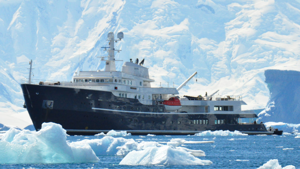 Explorer Yacht Legend in the Arctic by Diana Yacht Design