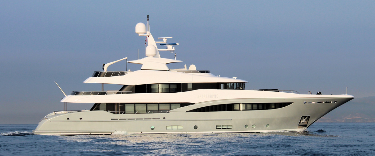 Apostrophe by Hakvoort with naval architecture by Diana Yacht Design