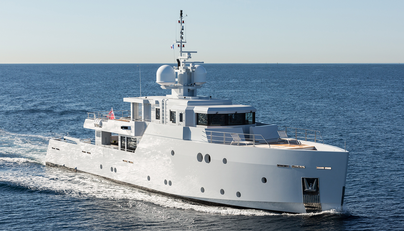 Sexy Fish by Tansu yachts