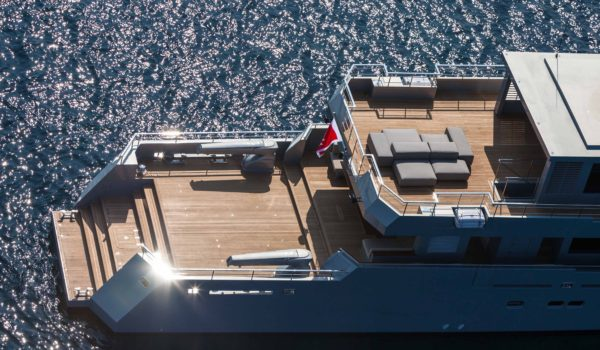 Superyacht So'Mar built by Tansu Yachts in 2014