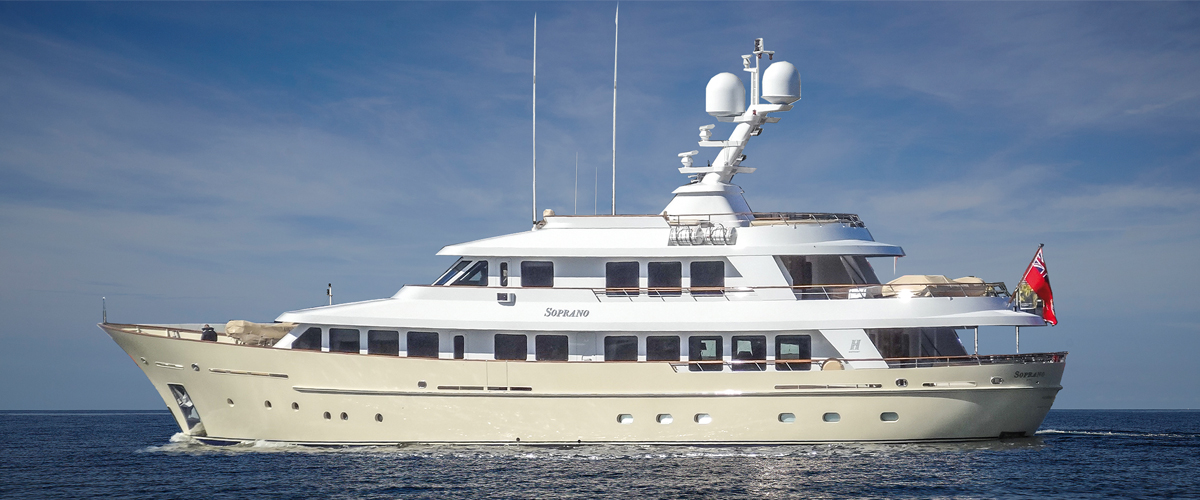 Soprano by Hakvoort with naval architecture by Diana Yacht Design