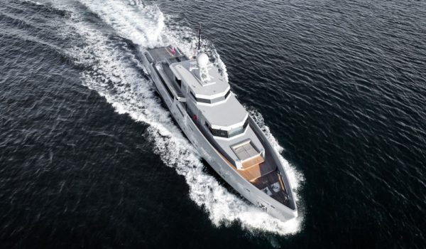 Cyclone by Tansu Yachts with naval architecture by Diana Yacht Design