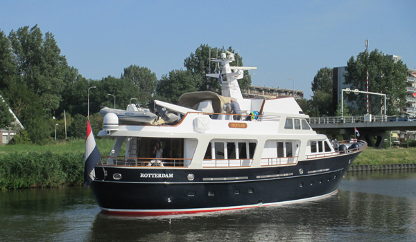 Nickeline by Moonen with naval architecture by Diana Yacht Design