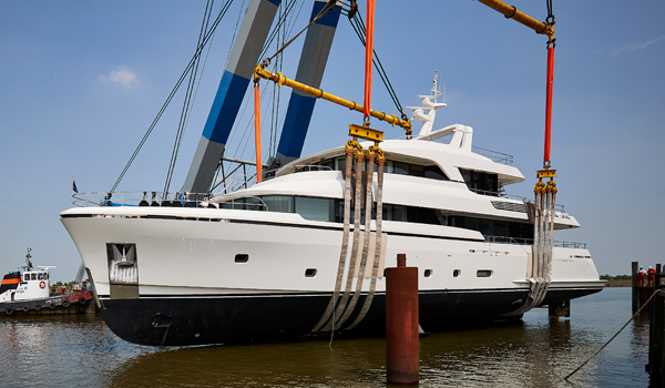 Brigadoon by Moonen with naval architecture by Diana Yacht Design