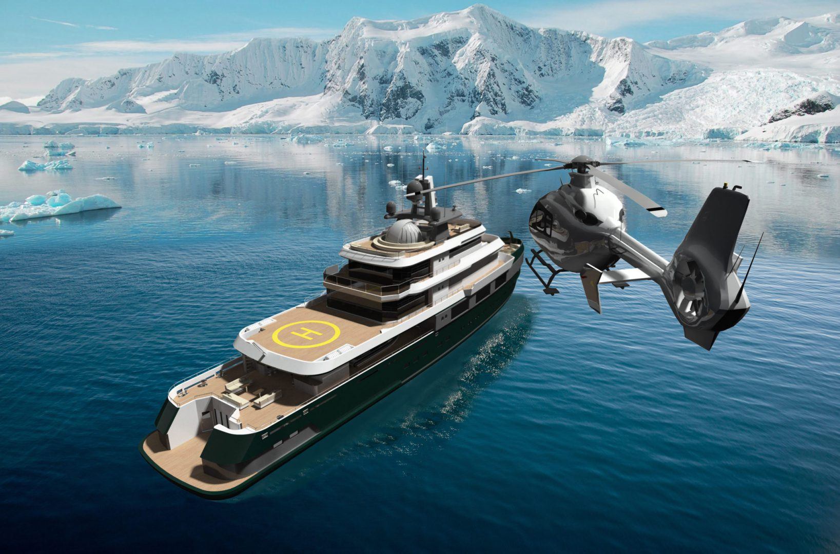 Concept Beyond by Diana Yacht Design