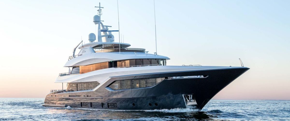 Viatoris by Conrad Shipyard with naval architecture by Diana Yacht Design