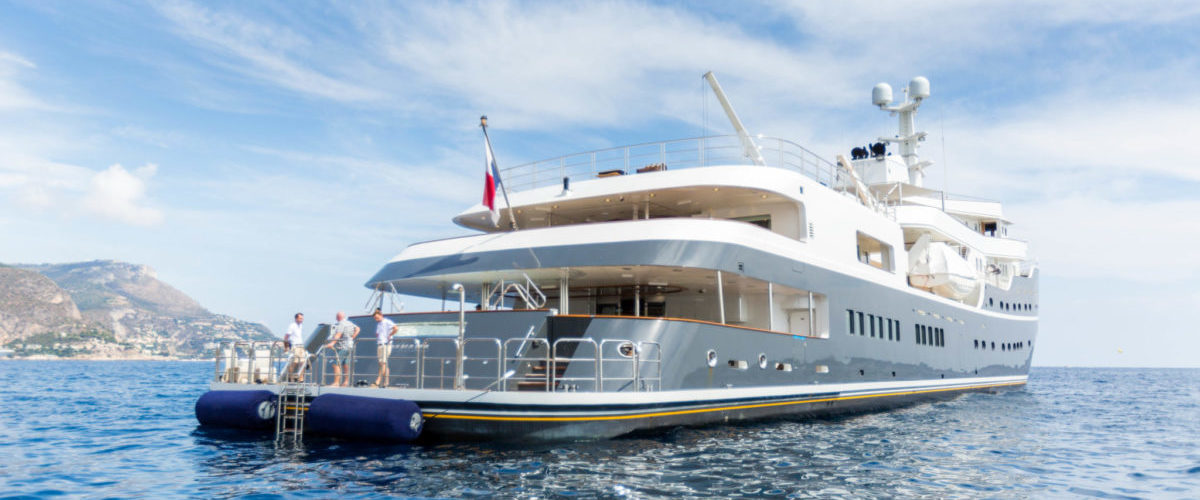 Legen refit by Icon with naval architecture by Diana Yacht Design