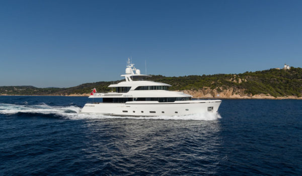 Brigadoon winner World Superyacht Awards 2019
