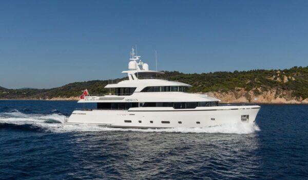 Brigadoon winner World Superyacht Awards 2019 - Naval Architect Diana Yacht Design