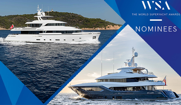 2 of the nominees for The World Superyachts Awards are Brigadoon and Viatoris