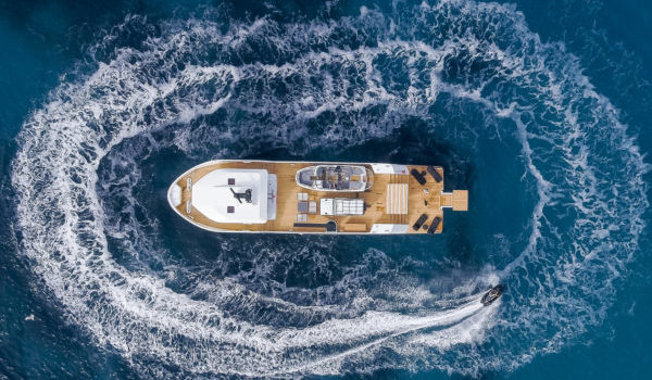 YXT 24 Evolution - Birdview - Lynx Yachts