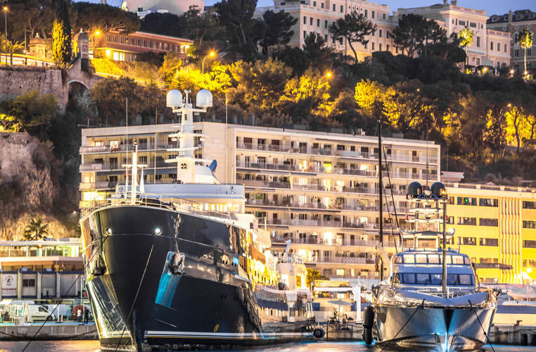 Explorer yacht Legend in Monaco by Superyacht Times