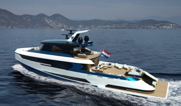 Seaview Concept yacht Blue Angel by Diana Yacht Design