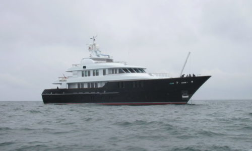 Odyssey (ex Amante) on sea trials