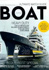 Boat International Cover Page November issue 2019 - Superyacht Scout