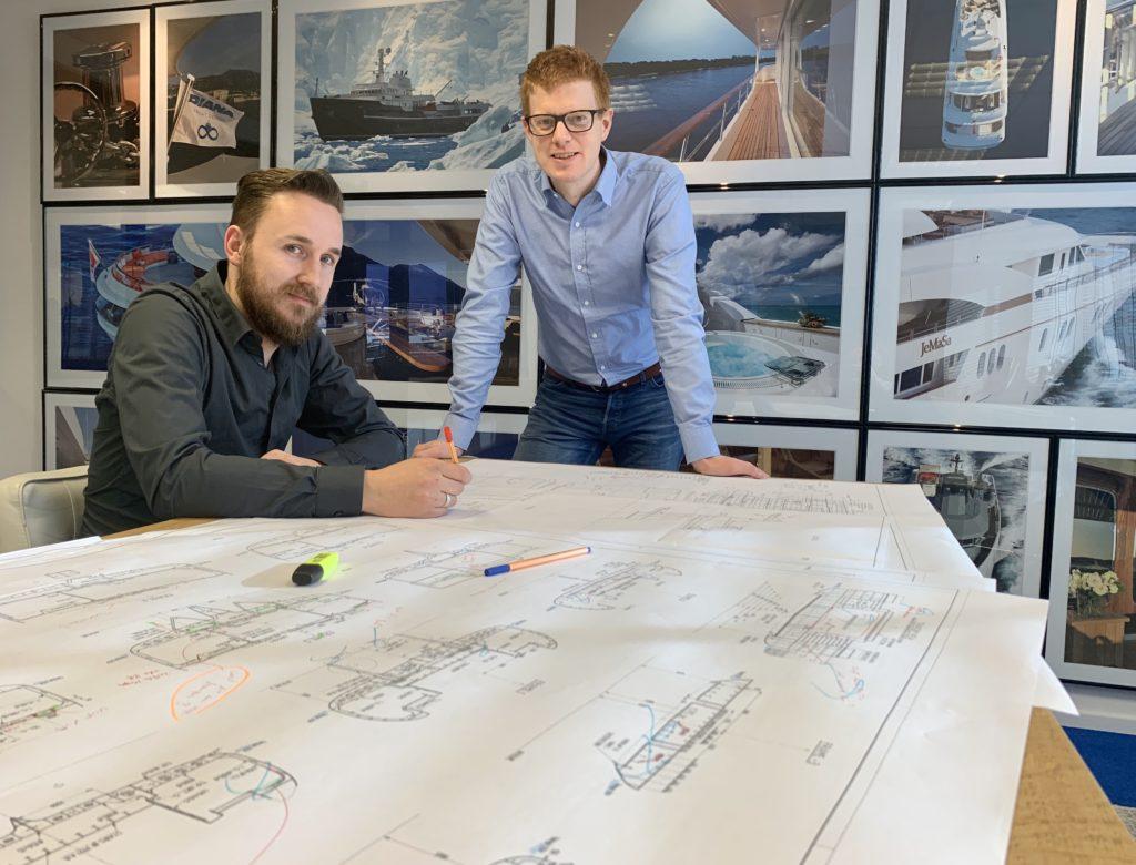 Diana Yacht Design office in Alkmaar, The Netherlands