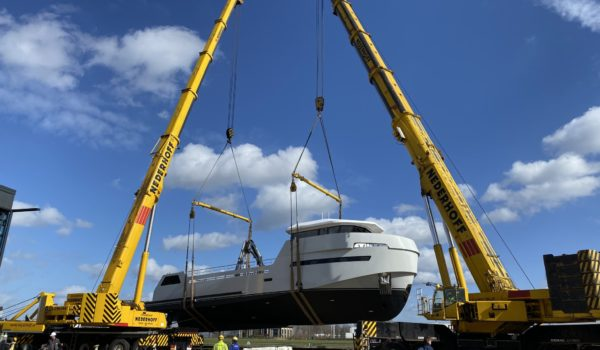 YXT launch at Lynx Yachts in Nijkerk, March 2020