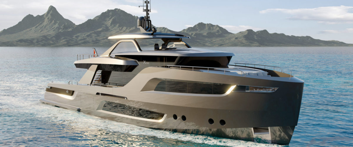 X-treme 105 the first yacht of the series
