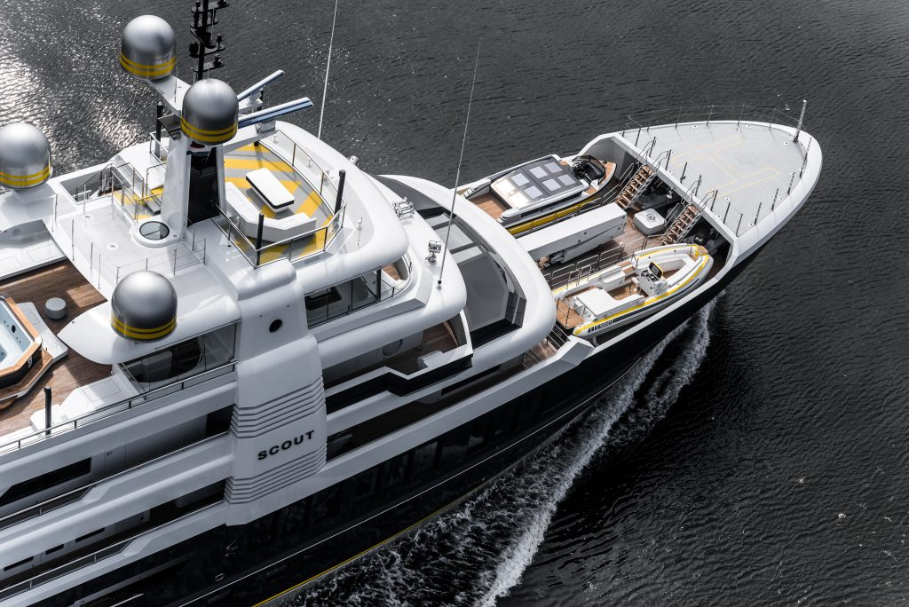 Superyacht Scout by Hakvoort Shipyard - Photo Tom van Oossanen