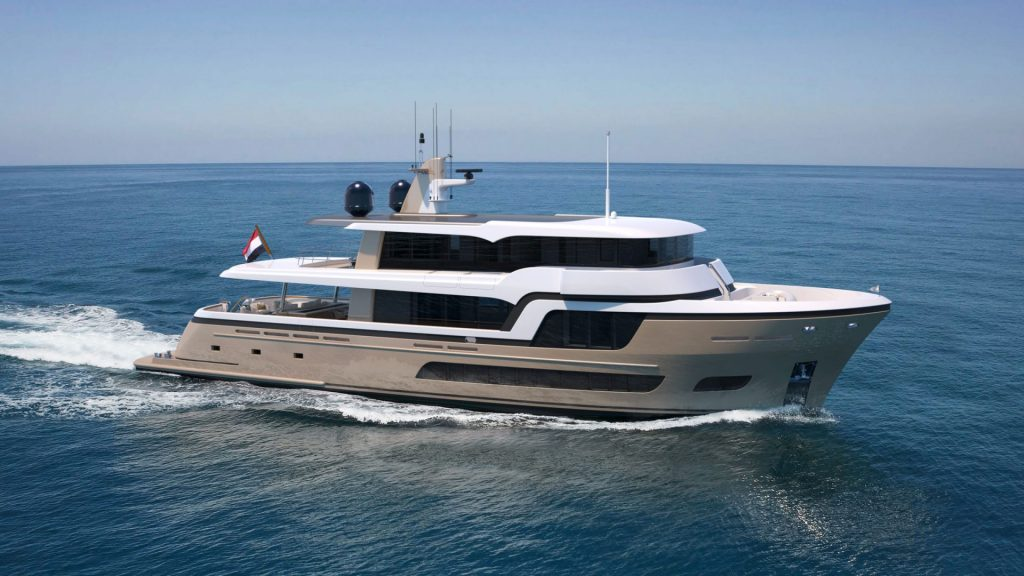 Explorer yacht Lady Lene - van der Valk Shipyard