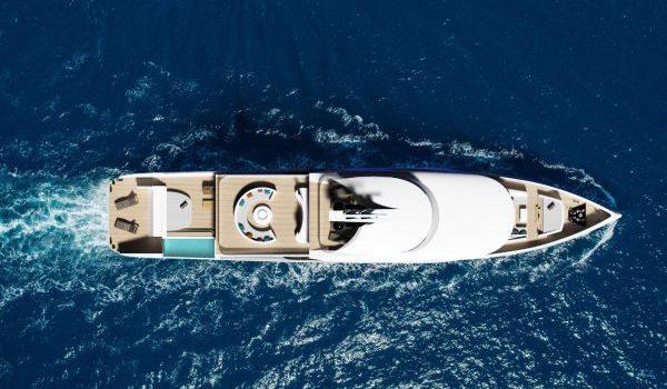 Birdview Zenith concept yacht