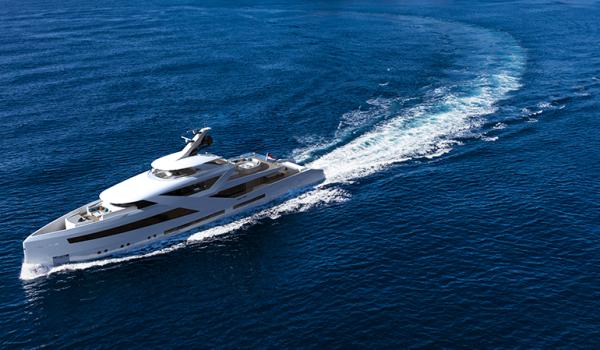 Concept yacht Zenith - cruising