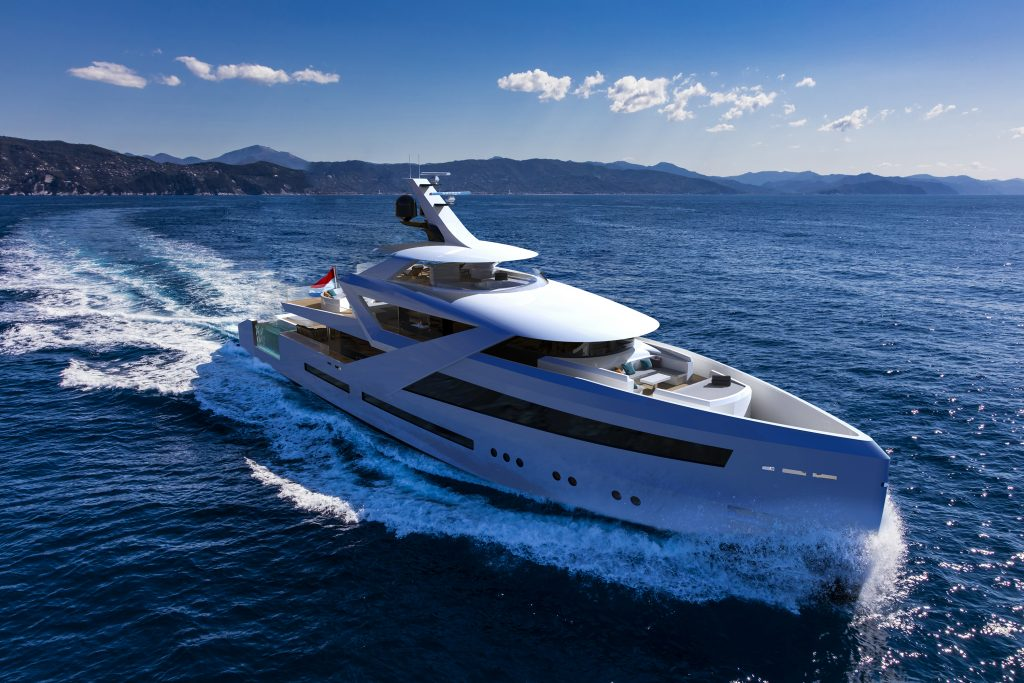 Concept Yacht Zenith by Diana Yacht Design