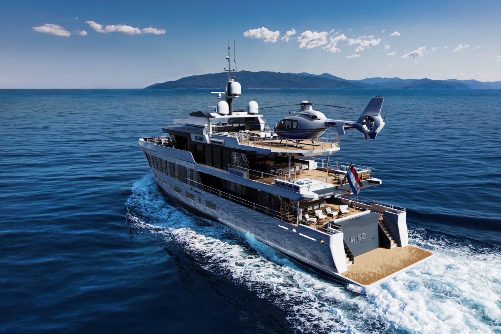 DIANA R.50 - 47-meter superyacht concept - Diana Yacht Design