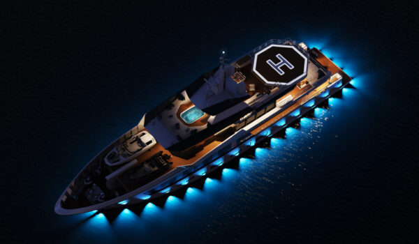 DIANA R.50 - at night - Diana Yacht Design