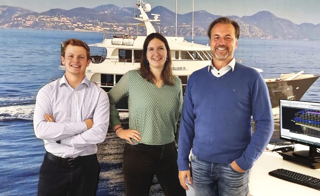 Team Diana, Jimmy Wursten, Agaath Siepel and Hans-Maarten Bais